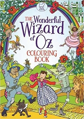 the wonderful wizard of oz colouring book amazoncouk ann kronheimer 9781780554365 books - Wizard Of Oz Coloring Book