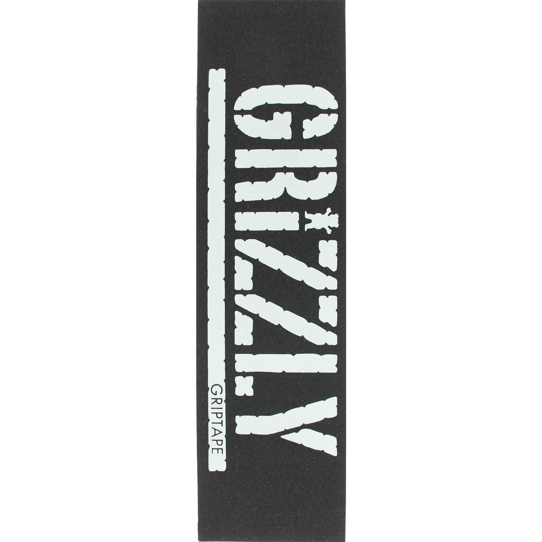 グリズリーグリップテープオーバーサイズスタンプブラック 33/ホワイトグリップテープ – 9 9