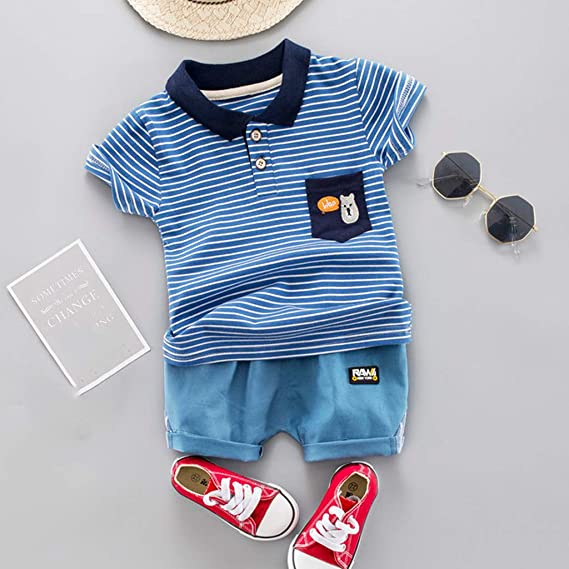 0-2Years,SO-buts Infant Baby Girl Boy Fall Winter Feather Striped Bodysuit Romper Jumpsuit with Pocket Clothes Hat Set Outfits