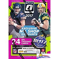 $27 » 2017 Donruss Optic NFL Football EXCLUSIVE Factory Sealed Retail Box with (6) ROOKIES & (6) PARALLELS/INSERTS! Look for Rookies &…