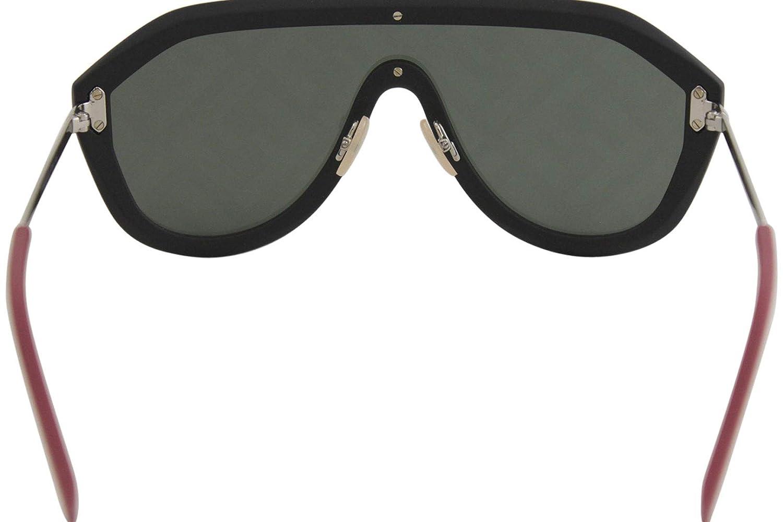 f3215ccfb3b Amazon.com  Fendi Fabulous FF M0039 G S Black Green 99 1 145 Men Sunglasses   Clothing
