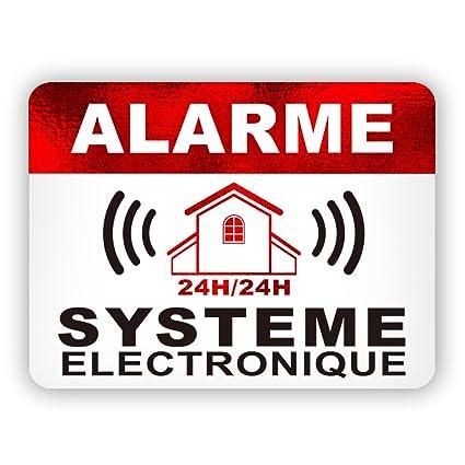 Pegatinas de Alarma de Seguridad para disuasión