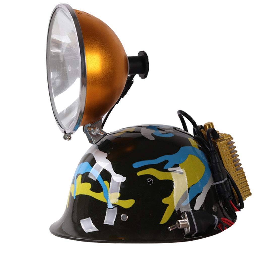 Hjd-Scheinwerfer Starke Licht Xenon Lampe Kopf Lampe High Power Lade Super Helle Wasserdichte Angeln Jagd Licht Helm Licht