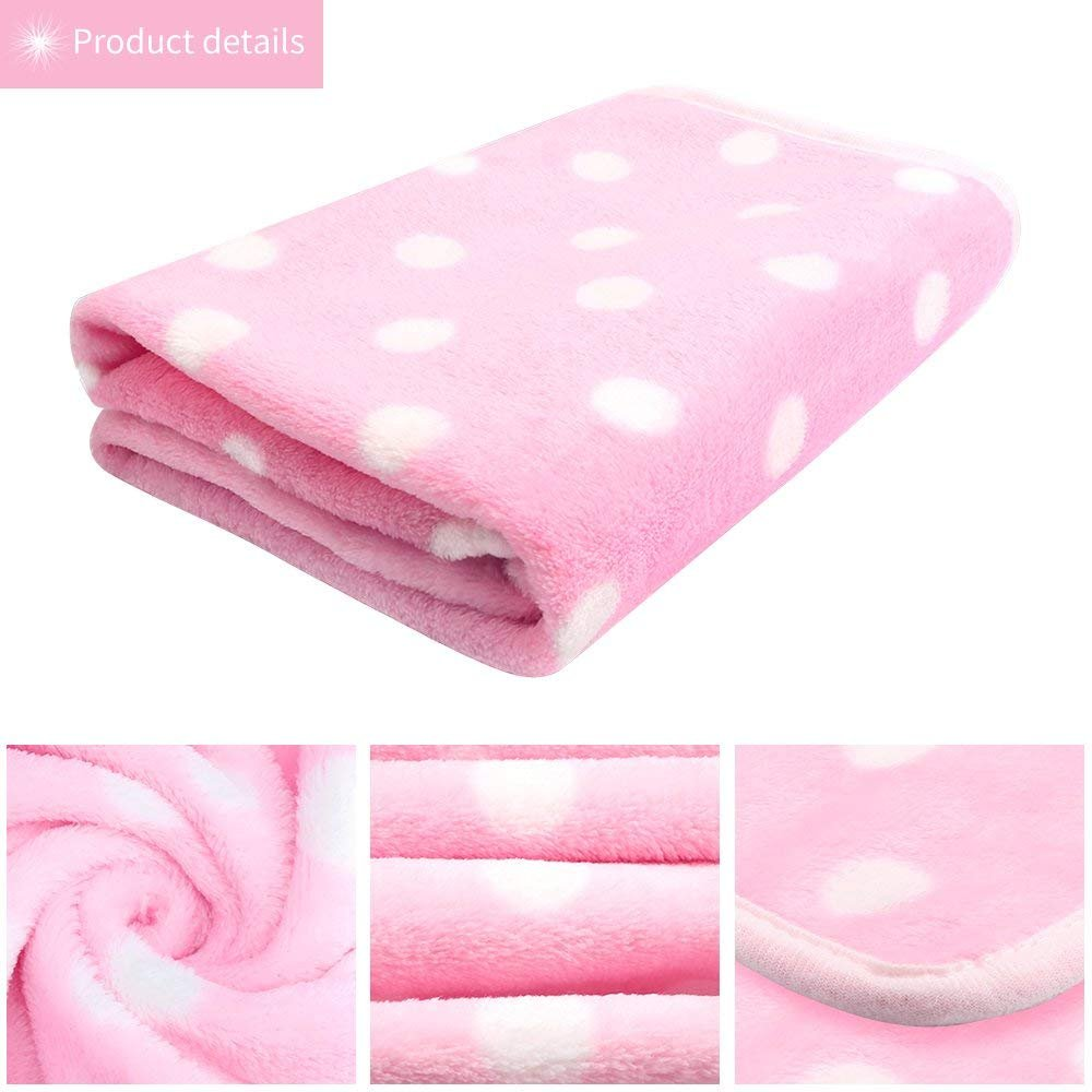 Pet Dog Blanket - Cat Puppy Blanket Soft Warm Sleep Mat Couch,Car, Bed - Dog Cat Other Small Animals (Pet Blanket) by BAODATUI (Image #4)