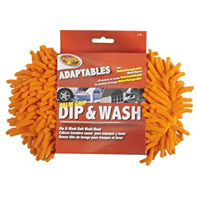 Detailer's Choice 6-08 Adaptables Microfiber Dip and Wash Palm Grip Mop Head: Automotive