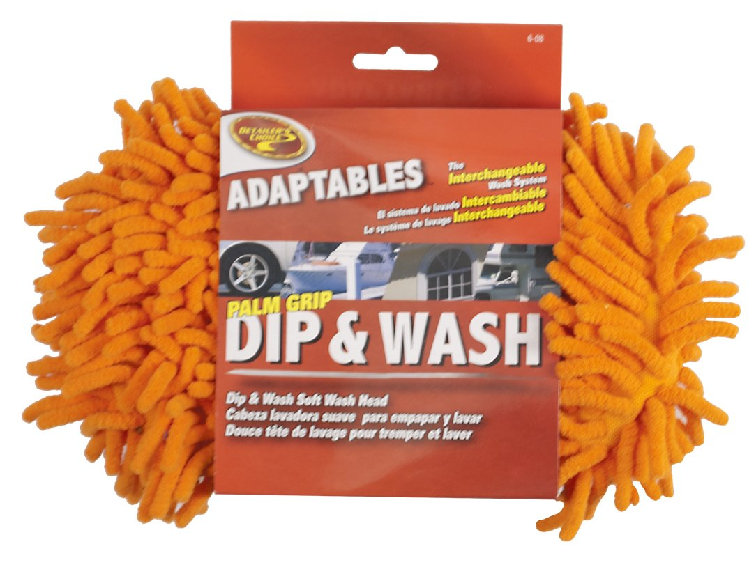 Detailer's Choice 6-08 Adaptables Microfiber Dip and Wash Palm Grip Mop Head Detailer' s Choice 42529