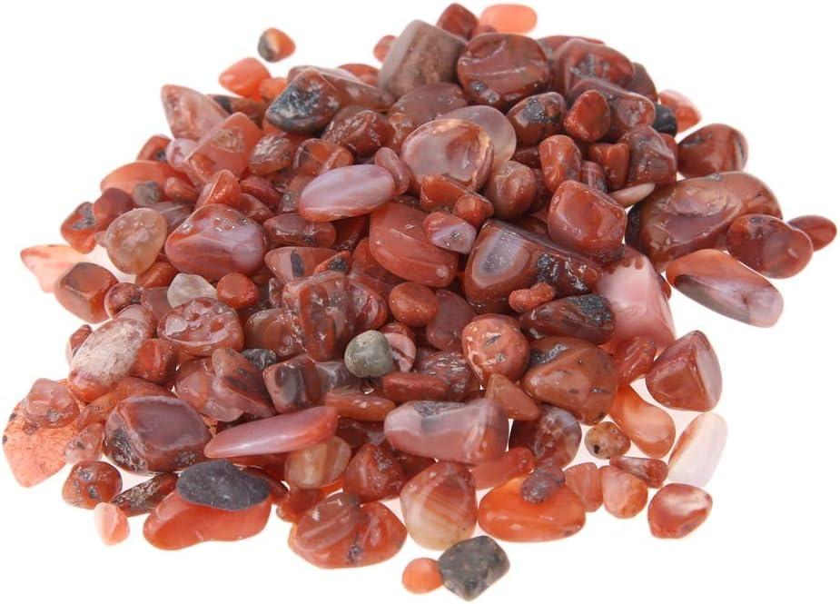7-9mm Piedra de cornalina Piedra preciosa Piedra bruta Mineral Espécimen Cristal Piedras Artesanía cristal natural Decoración para el hogar