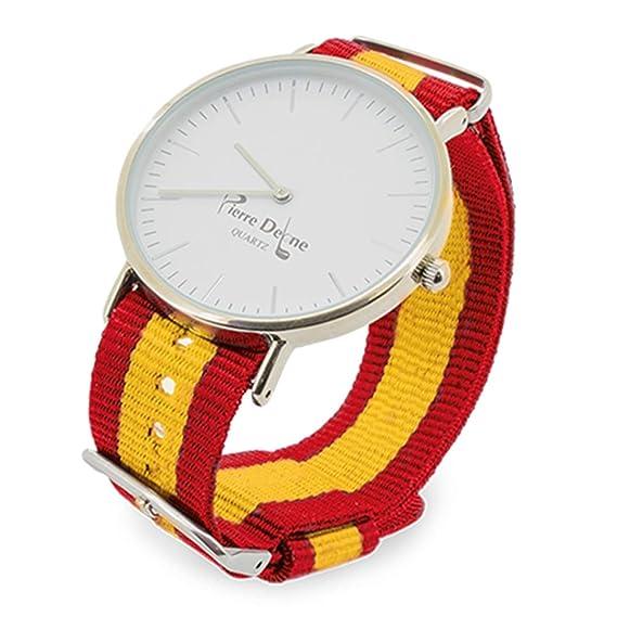 dff097c7eb40 Reloj DE Pulsera Pierre Delone- Regalo Deportistas- Correas  Intercambiables- Tres Correas Distintas en una Bonita Caja de Regalo   Amazon.es  Relojes