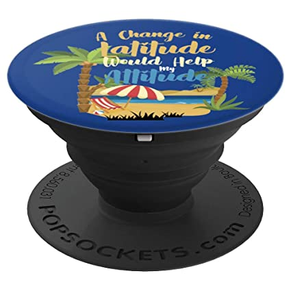 Amazon com: Blue Funny Vacation Sayings Quotes - PopSockets