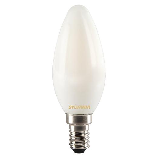 0027287 Led Toledo Sylvania LampGlassHome Retro Candle Light yNnmw8v0OP