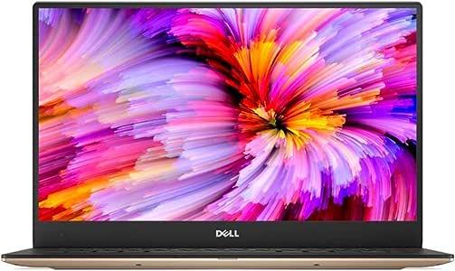 Dell XPS 13-1016 Laptop - Inte Core i7 7th Gen, 13.3 Inch, 256 GB, 8 GB, Windows 10 Home, Gold