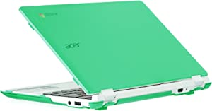 "iPearl mCover Hard Shell Case for New 2016 11.6"" Acer Chromebook 11 CB3-131 Series with IPS HD Display (NOT Compatible with Older Acer CB3-111 Series) Laptop (Green)"