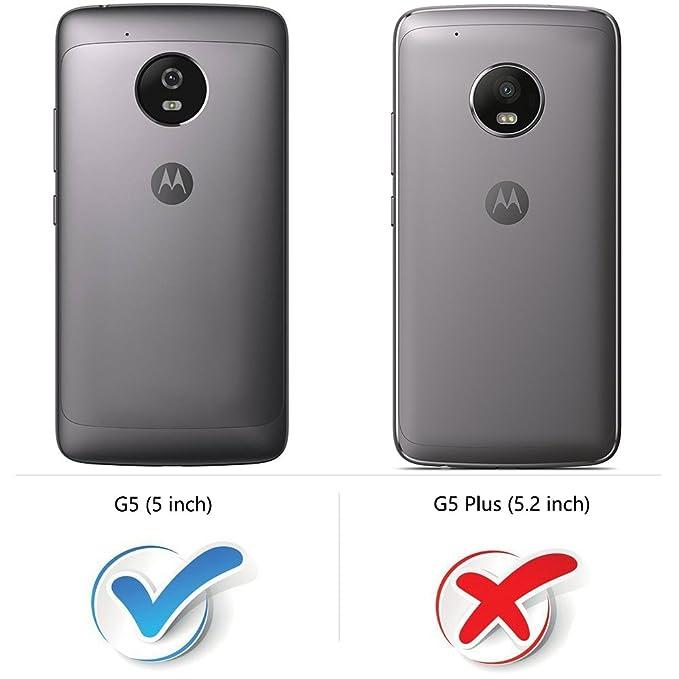 MOBESV Funda para Motorola Moto G5, Funda Libro Motorola Moto G5, Funda Móvil Motorola Moto G5 Magnético Carcasa para Motorola Moto G5 Funda con Tapa, ...