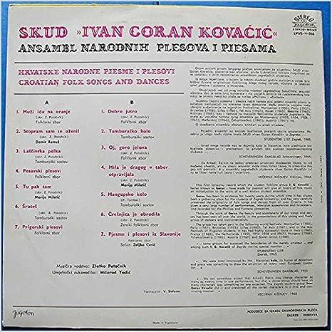 Ivan Goran Kovacic Muzi Idu Na Oranje Lp Amazon Com Music
