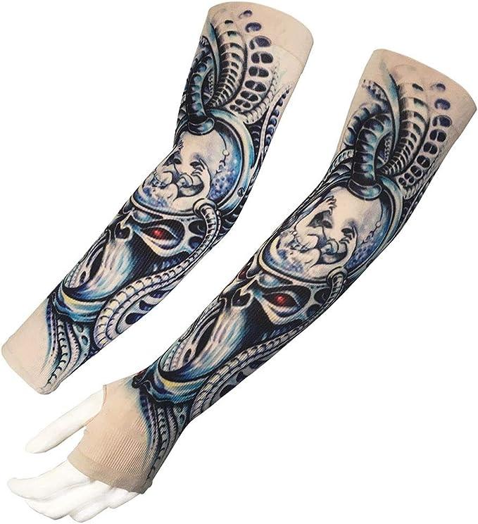 1 par Unisex Nylon Manga del del Manga tatuaje festiva tatuaje ...