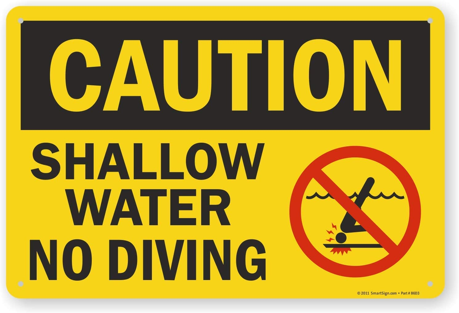 10 x 15 Plastic SmartSign/No Pets Allowed in Pool Area Sign