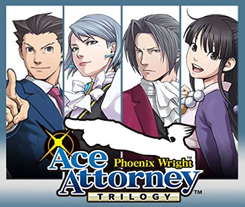 Phoenix Wright Ace Attorney Trilogy - 3DS