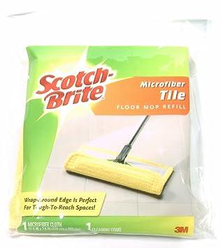 Amazoncom Scotch Brite Microfiber Tile Floor Mop Refill By M - Scotch brite microfiber hardwood floor mop