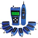 Noyafa NF-388 Network Ethernet LAN Phone Tester wire Tracker USB coaxial Cable 8 Far