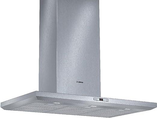 Bosch DWB098E50 - Campana (Canalizado/Recirculación, 890 m³/h, 460 m³/h, Montado en pared, LED, 897 Lux) Acero inoxidable: Amazon.es: Hogar