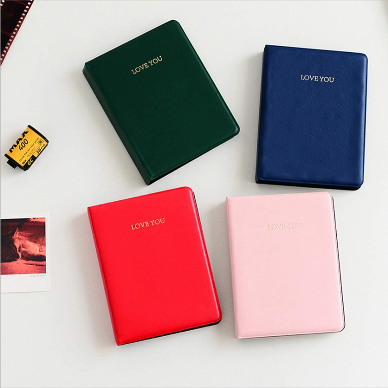 Kodak Mini 3 Pouces Film avec des Autocollants color/és Polaroid PIC-Snap 300 Aimez-Vous, Bleu fonc/é Amimy 64 Poches Album Photos pour Fujifilm Instax Mini 7s 8 8+ 9 25 50 70 90 Sprocket HP