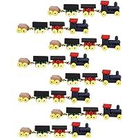 8 Set de 1/12 Tren Locomotora Carruajes