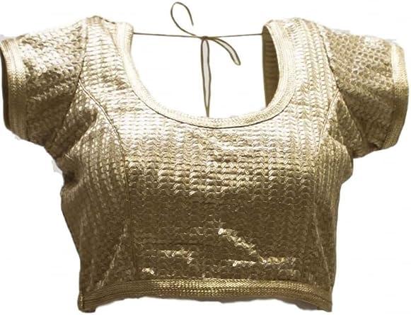 Krishna Sarees - Camisas - Manga corta - para mujer Dorado ...