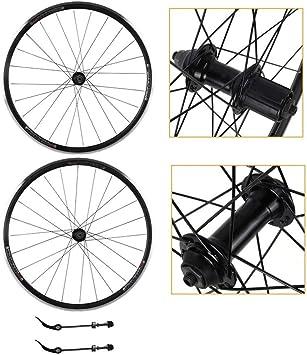 Zyy 700c Bicicleta híbrida de liberación rápida Tornillo de Doble ...