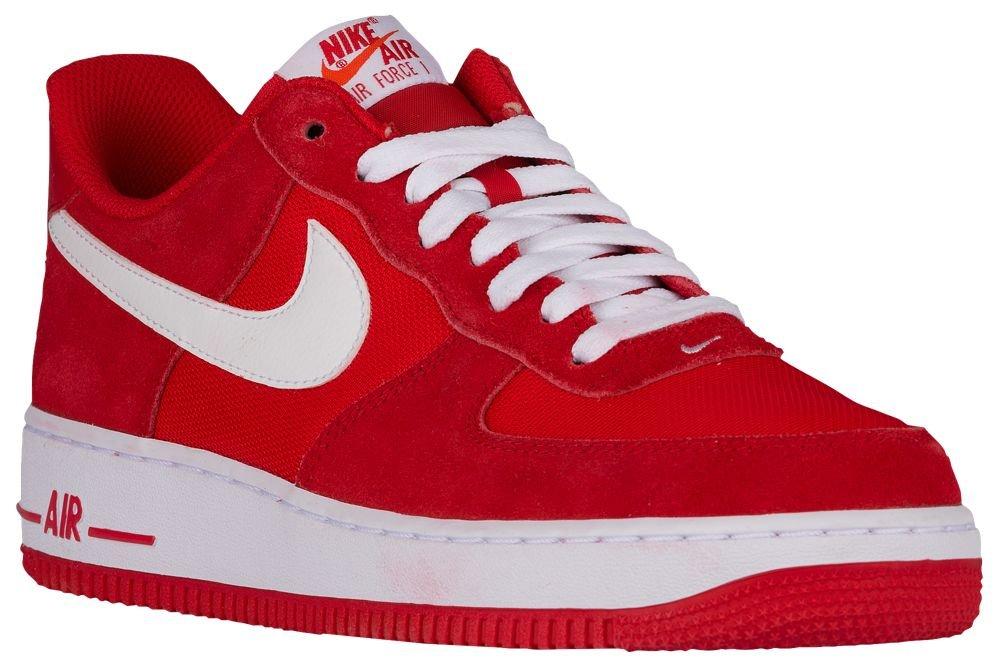 [ナイキ] Nike Air Force 1 Low - メンズ バスケット [並行輸入品] B0723DBW56 US12.0 Game Red/White