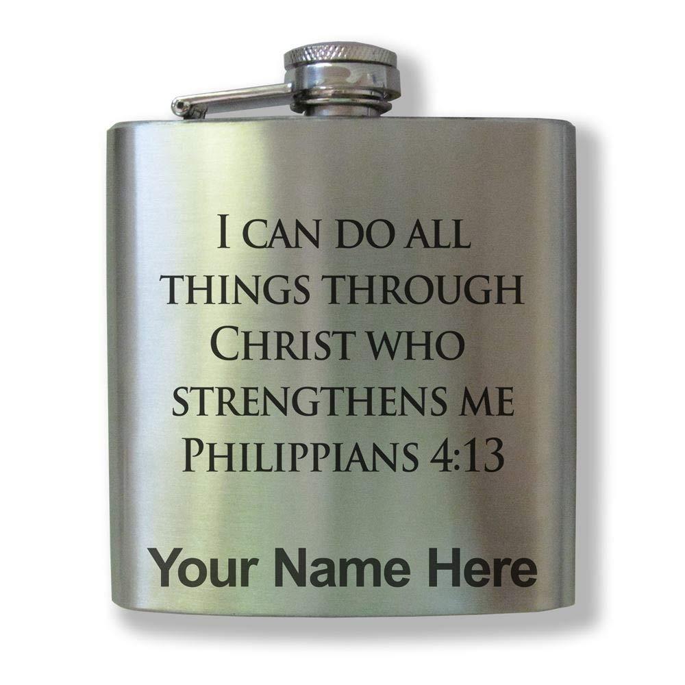 【訳あり】 ステンレススチールフラスコ – Bible : verse – Philippians 4 B074S7QVL6 : 13 – カスタマイズ彫刻含ま B074S7QVL6, コウヌグン:aa84ba1b --- a0267596.xsph.ru