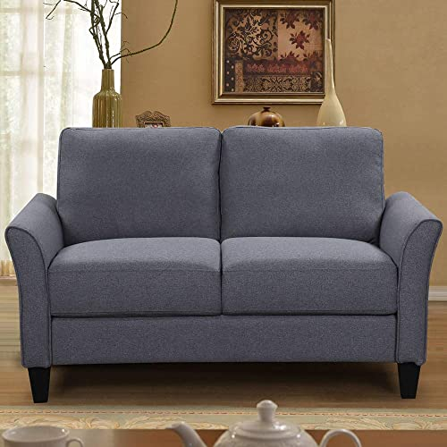 Romatlink 3 Pieces Living Room Furniture Set, Button Tufted Sectional Armrest Chairs, Single Chair Sofa Loveseat Chair and 3-Seats Couch Sofas for Home Furniture