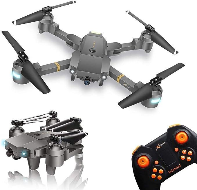 WINGLESCOUT Plegable Drone con Camara HD, 720P RC Drone Video Gran Angular FPV Drones para Niños Principiante con Camara: Amazon.es: Juguetes y juegos