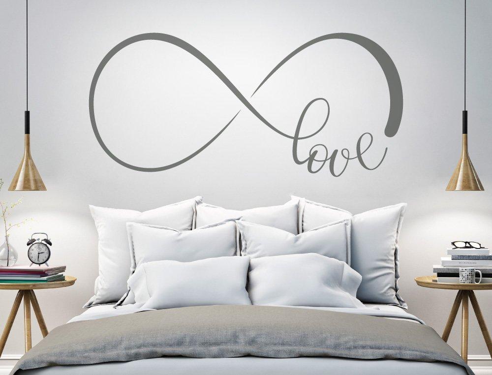 Schlafzimmer Wandtattoo Unendlichkeitszeichen Liebe Wanddeko Wanddeko Wanddeko Wandaufkleber B072K62JXQ Wandtattoos & Wandbilder 85089f