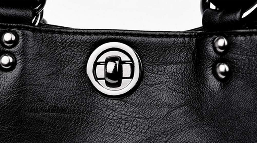 GWLDV Frauen Rucksack/pu Eimer Tasche/einfarbig Rucksack, lässige Mode, geeignet für Frauen einkaufen, Arbeiten und andere Gelegenheiten Blue