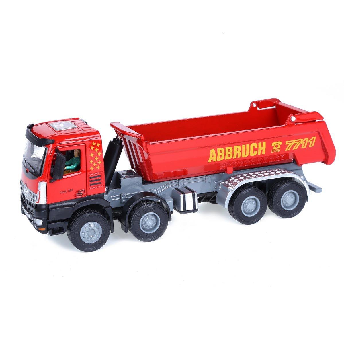 Damara 1:50 Kippmulde Lastkraftwagen Fahrzeug Für Kinder,Rot