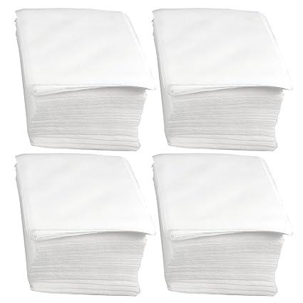 """sourcing map 600 x Paño quita polvo toallas para salas limpias de 4"""" x 4"""""""