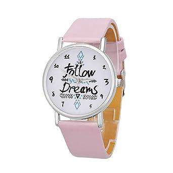 Amazon.com: Relojes de cuarzo para mujer con el mundo, COOKI ...