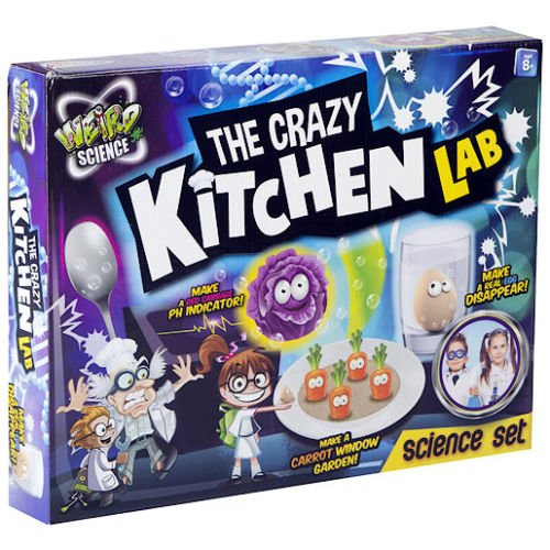 New Grafix Weird Science The Crazy Kitchen Lab Food Experiment Set Kit Become The Quirkiest Chef Ever in The Kitchen Lab! (Science Experiments In The Tub compare prices)