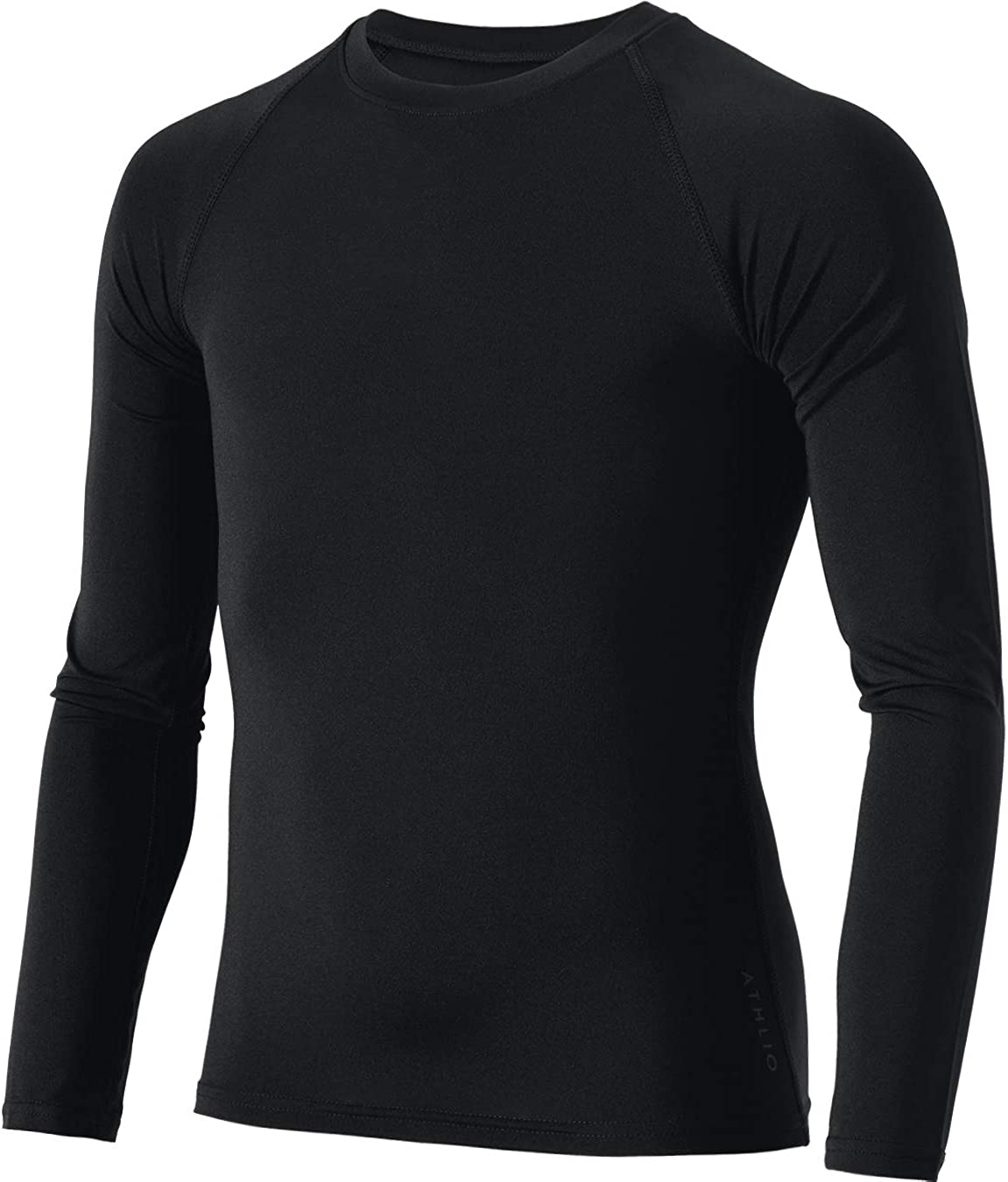 ATHLIO Kids Compression Running Baselayer Cool Dry Sports Top /& Bottom Set