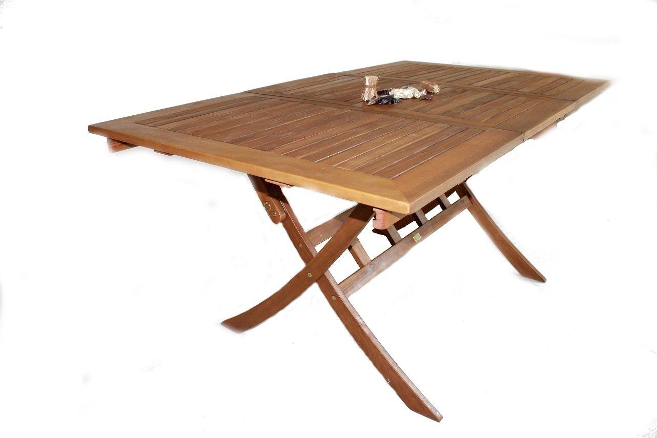 Ramsey Gartentisch 110-160/90 cm Eukalyptus FSC