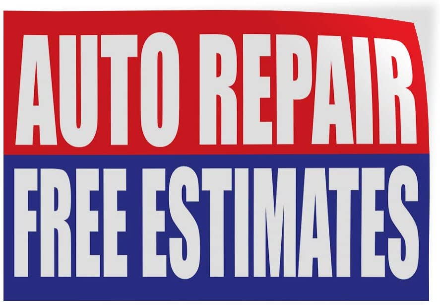 Decal Sticker Multiple Sizes Open 24 Hours Auto Body Shop Car Repair Business Open 24 Hours Outdoor Store Sign Red Set Of 5 27inx18in Store Signs