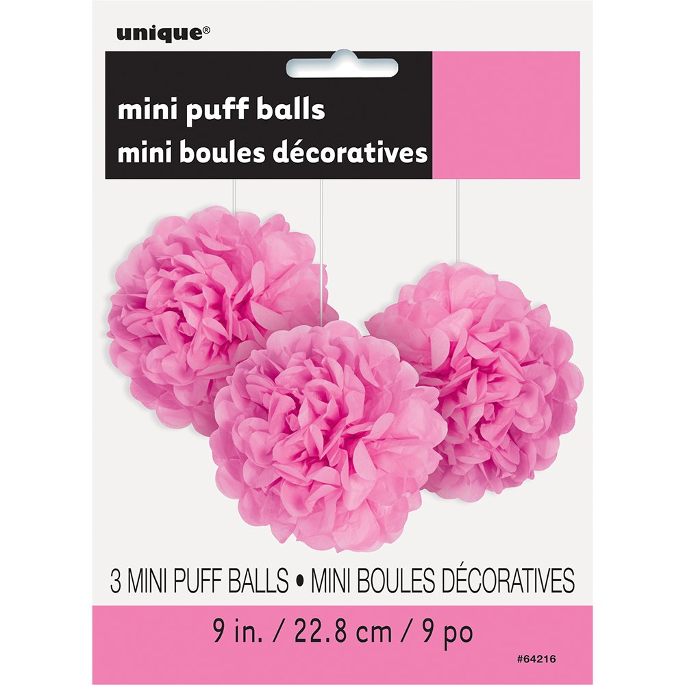 3ct Unique Industries 64214 9 Small Lime Green Tissue Paper Pom Poms