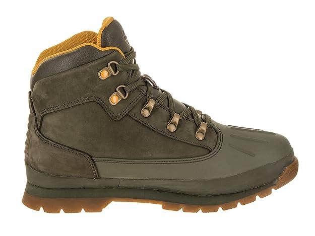 Timberland Eurohiker Shell WP Schuh für Junge Frauen, 36 M EU, Grape Leaf