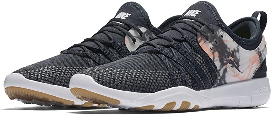 Nike Women's Free TR 7 AnthraciteAnthraciteWhiteLava Glow, Size 8.5