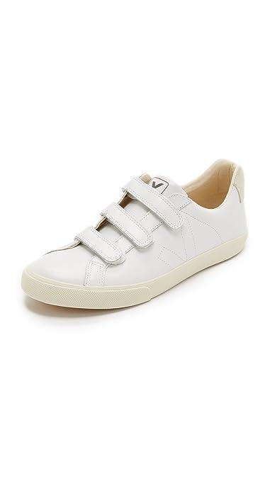 VEJA 3 - Lock Zapatillas Moda Mujeres Blanco - 39 - Zapatillas Bajas: Amazon.es: Zapatos y complementos