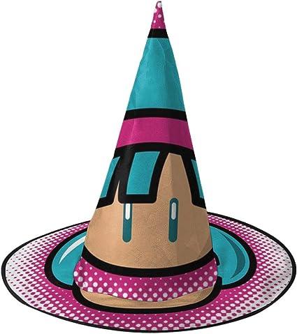 OJIPASD Bulm Up Bulma Dragonball Z Mario Sombrero de Bruja de Seta ...