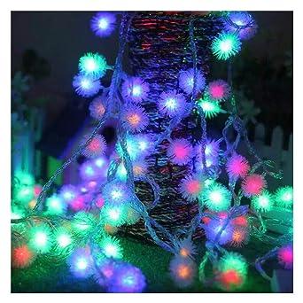 D'éclairage Décoration Lumineuses 10m Étanche Gdtime Noël Interieur 8 Avec Guirlandes Eclairage Festivals Perles Mariages Modes 100 Led Rj3Lq4c5A