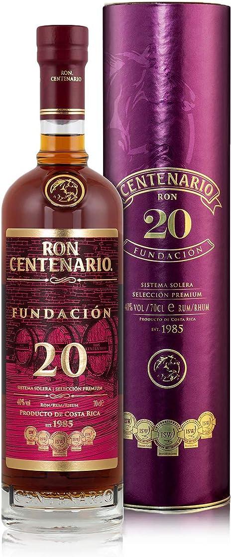 Ron Centenario FUNDACIÓN 20 Sistema Solera Rum - Old Edition 40% - 700 ml in Giftbox