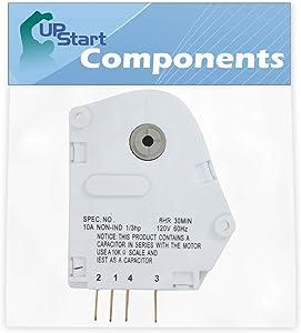 215846602 Defrost Timer Replacement for Frigidaire Refrigerators - Compatible with Part Number GP4, AP2111929, 12762, 241621501, 240371001, 604-73086, PS423801, CC313, CC902, CC925