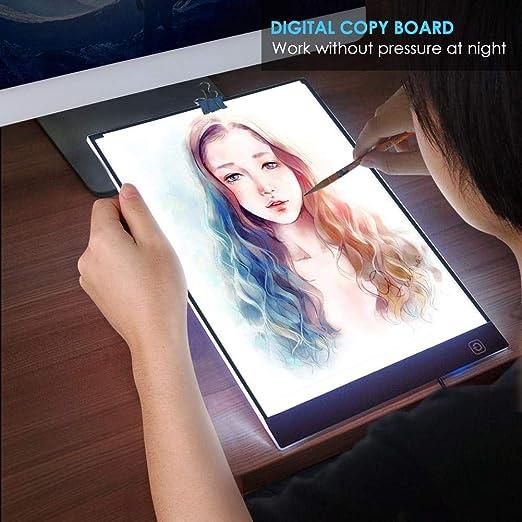 Pizarra digital A4 con pantalla LED para escribir 34 * 24cm ...